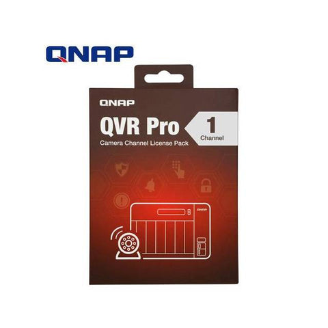 QNAP LIC-SW-QVRPRO-1CH 1 Channel License for QVR Pro