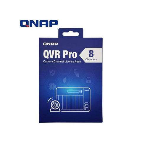 QNAP LIC-SW-QVRPRO-8CH 8 Channel License for QVR Pro