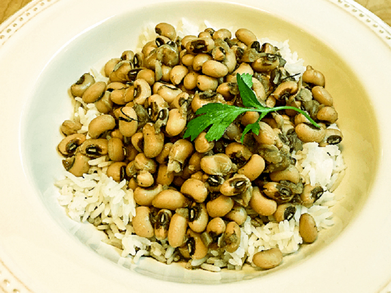 Southern-Style Black-Eyed Peas and Rice