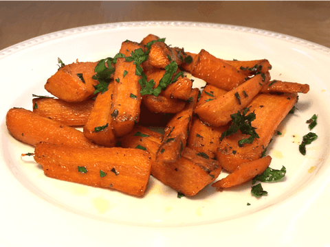 Carrots with Butter and Parsley