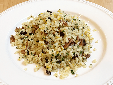 Cracked Wheat Salad with Pecans and Currants