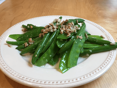 Green Bean and Snow Pea Salad