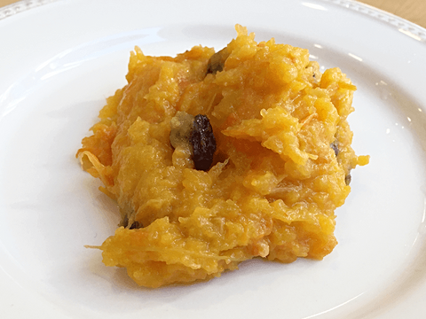 Mashed Butternut Squash with Raisins