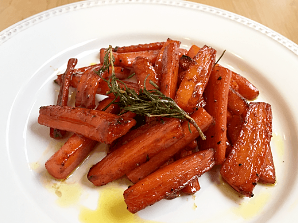 Pan Roasted Carrots