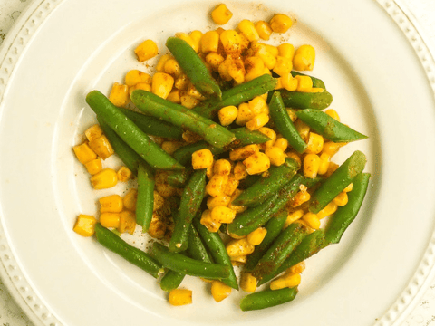Succotash with Corn and Green Beans