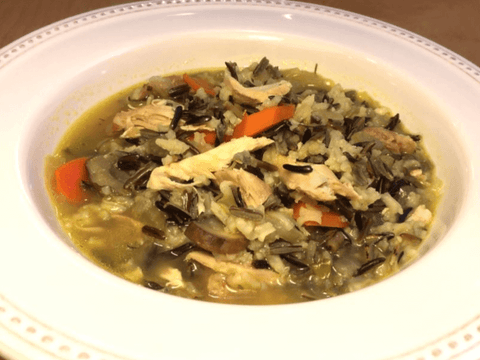 Wild Rice and Turkey Soup