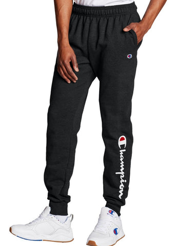 Men's Script Logo Powerblend Fleece Joggers
