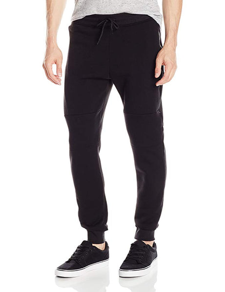 Coated Zip Joggers