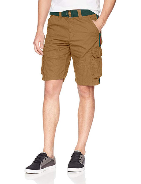 Striped Side Cargo Shorts