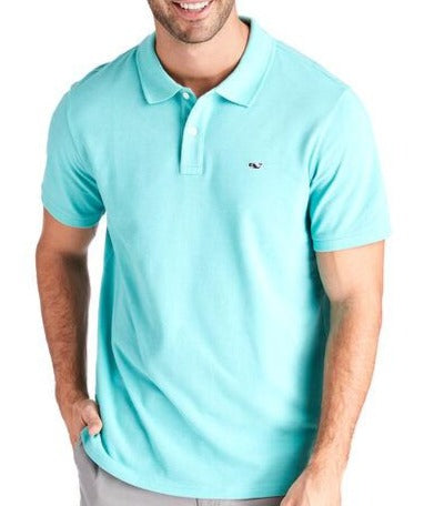 Men's Cotton Pique Solid Polo