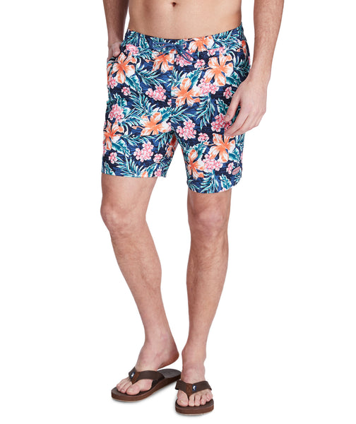 Men's Guana Floral Chappy Trunks