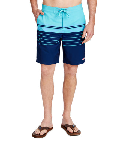 Men's Stripe Stretch Board Shorts