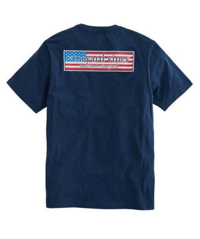 Men's Patriot Logo Box Tee