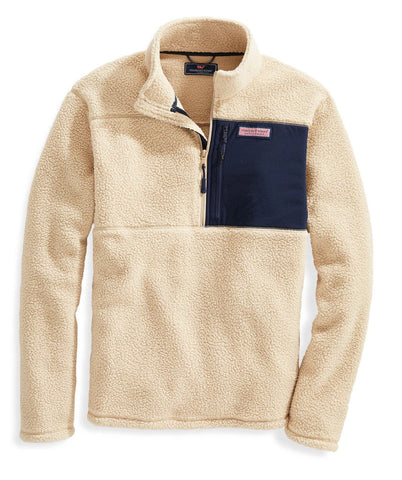 Men's Stillwater Chest Pocket Sherpa 1/2-Zip Pullover