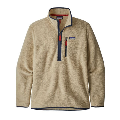 Men's Retro Pile Fleece Pullover