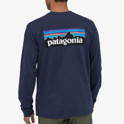 Men's Long-Sleeved P-6 Logo Responsibili-Tee®