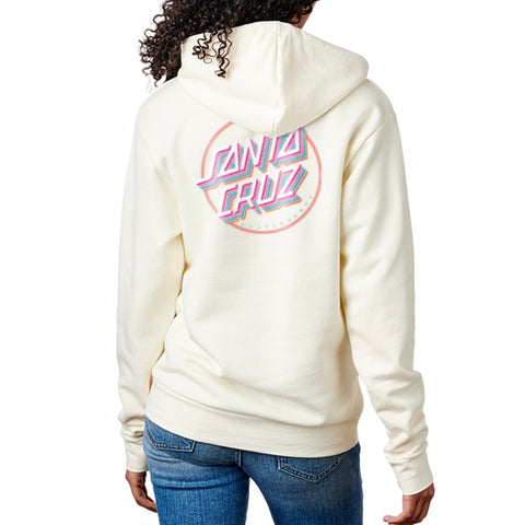 Layer Dot Pullover Hoodie