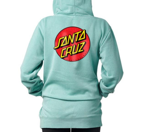 Classic Dot Pullover Hoodie