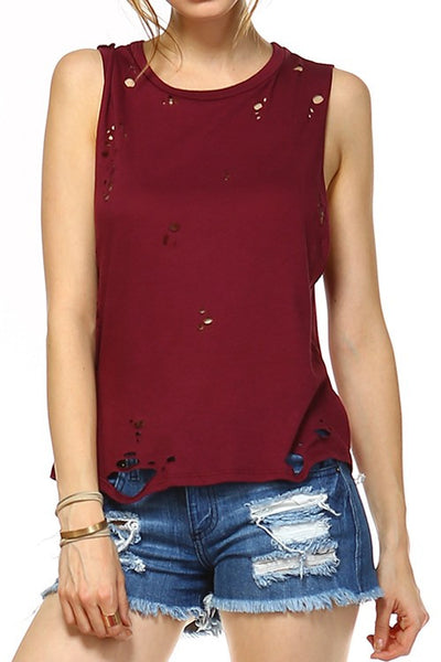 Distressed Solid Tank