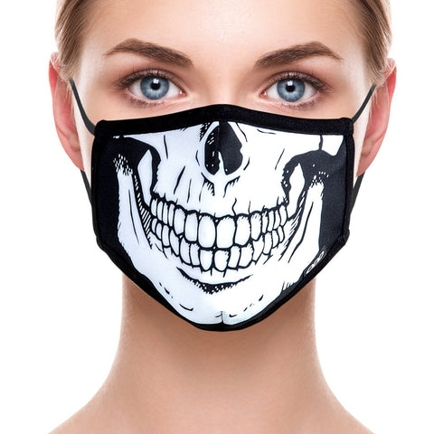 Skeleton Face Mask