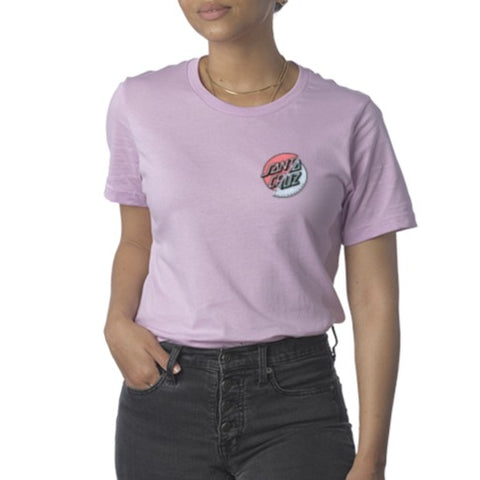 Women's Wave Dot Splice Tee