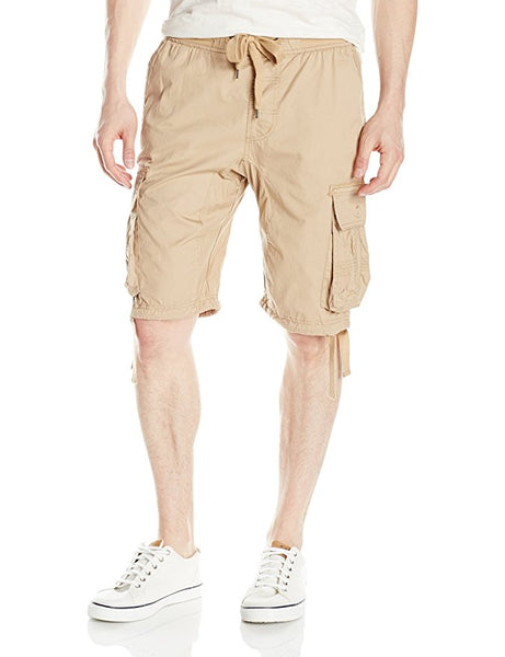 Solid Cargo Shorts