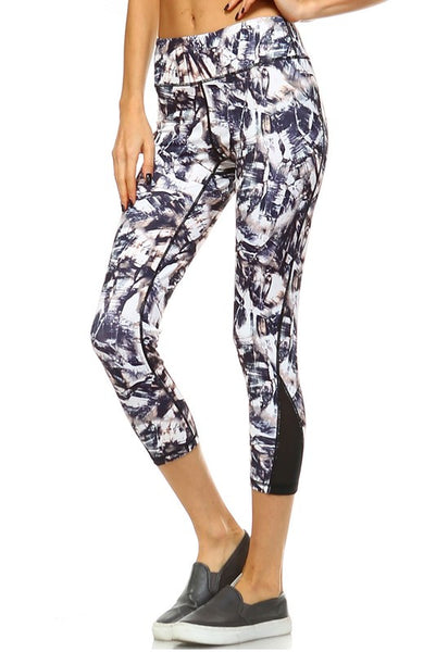 Paint Print Yoga Legging
