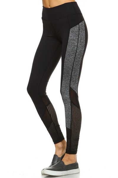 Colorblock Panel Leggings