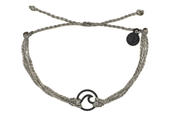 Black Wave Grey Bracelet