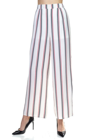 Striped Wide Leg Pant