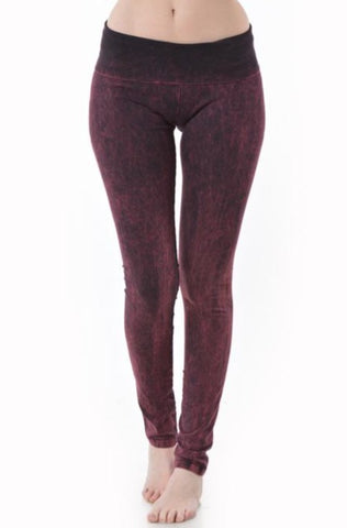 T-Party Mineral Wash Yoga Pant
