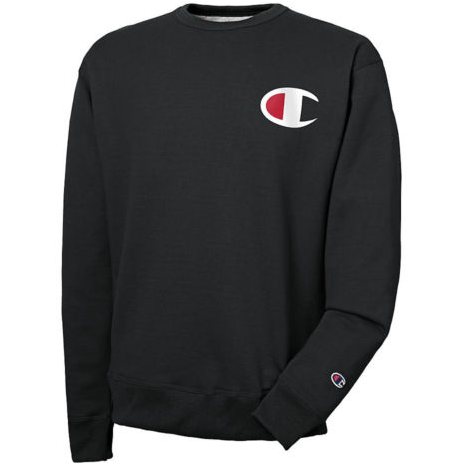 Champion Men's Big C Logo Powerblend® Crew
