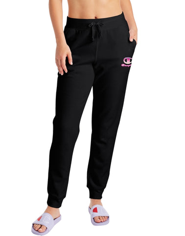 Women's Ombre Logo Applique Powerblend Fleece Joggers
