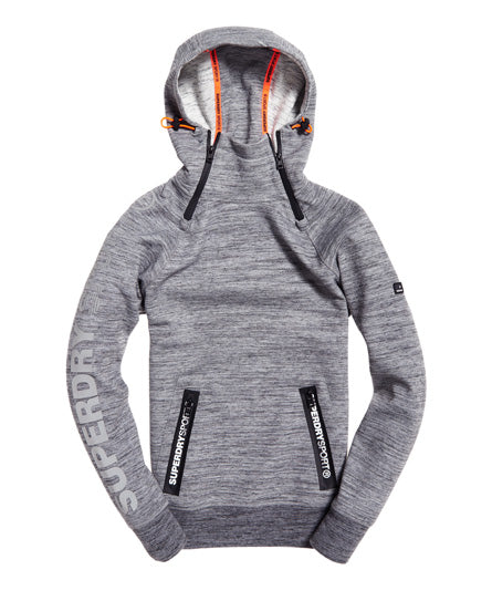 Gym Tech Double Zip Hoodie