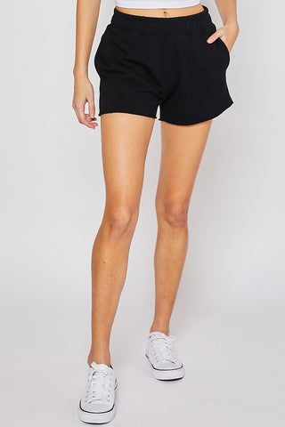 Cotton Terry Basic Shorts