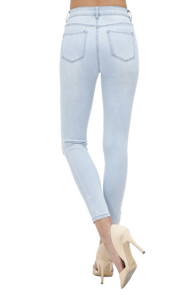 5 Button High Rise Skinny