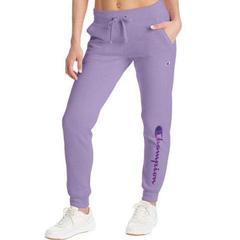 Women's Vertical Logo Powerblend® Fleece Joggers