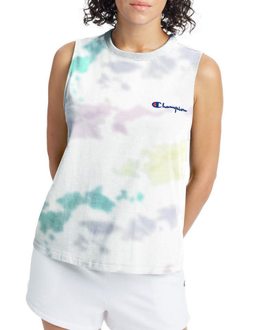 Women's Cloud Dye Boyfriend Muscle Tee