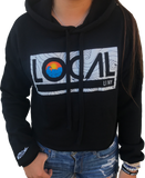 Women's LOCAL Sunset Crop Hoodie