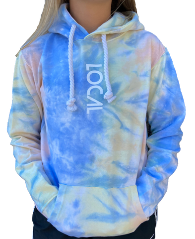 Tie Dye LOCAL Long Island Hoodie
