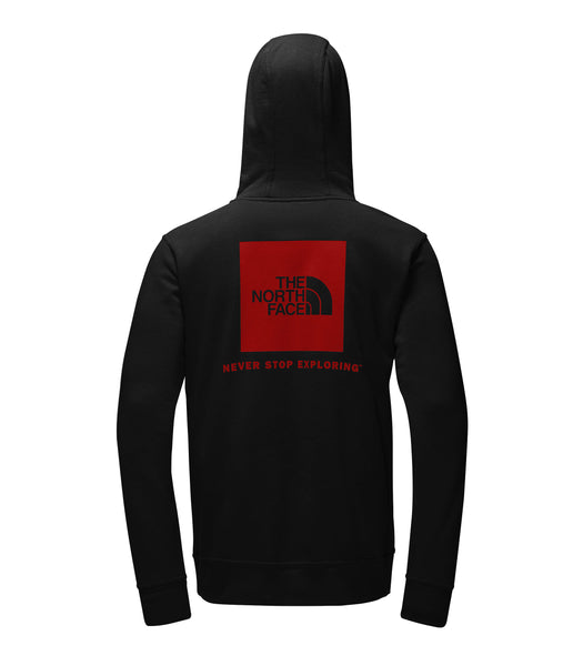 Men's Half Dome Red Box Hoodie