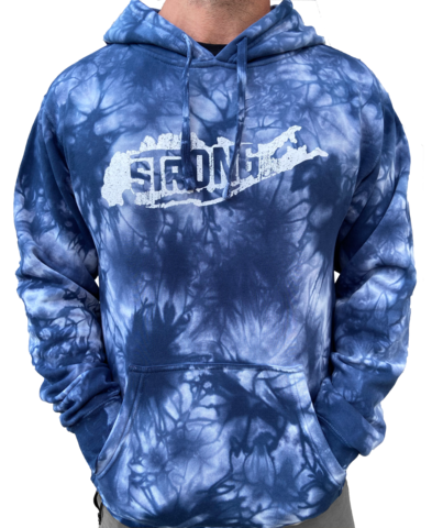 Men's Long island Strong Tie Dye Hoodie