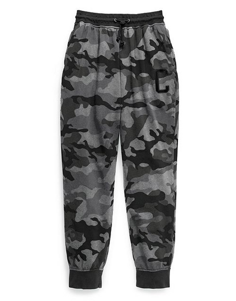 Champion Big C Vintage Dye Fleece Camo Joggers