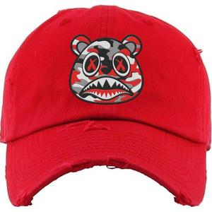 Red Camo Baws Hat