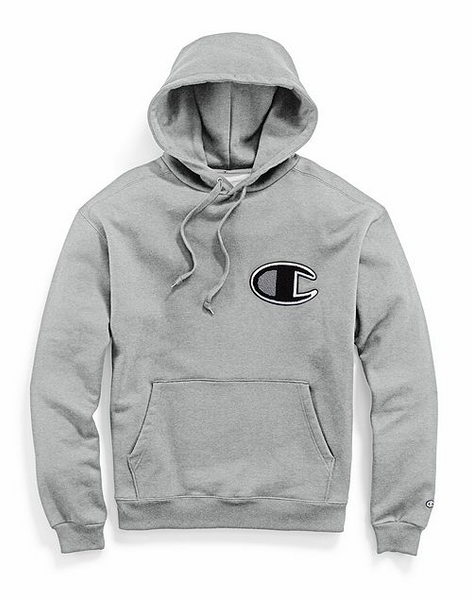 Champion® Chenille Logo Super Fleece Cone Hood