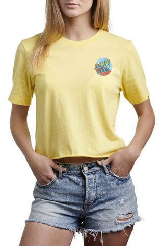 Dot Blocker Cropped Tee