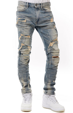 Men's Destroyed Fashion Jeans
