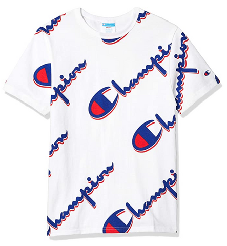 Men's All Over Logo Heritage Tee