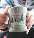 10oz Retro Mug Snow Day