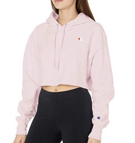 Women's Reverse Weave®  C Logo Cropped Cut Off Pullover